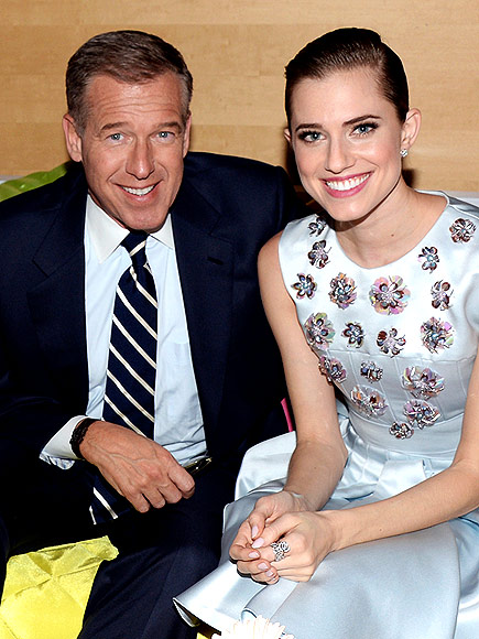photo | Allison Williams, Brian Williams
