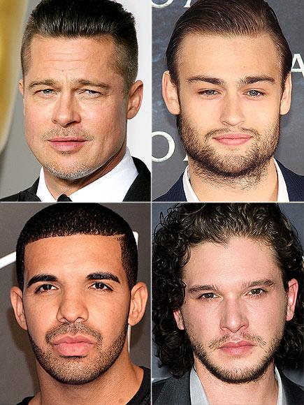 LIPS photo | Brad Pitt, Drake