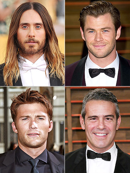 HAIR photo | Andy Cohen, Chris Hemsworth, Jared Leto, Scott Eastwood