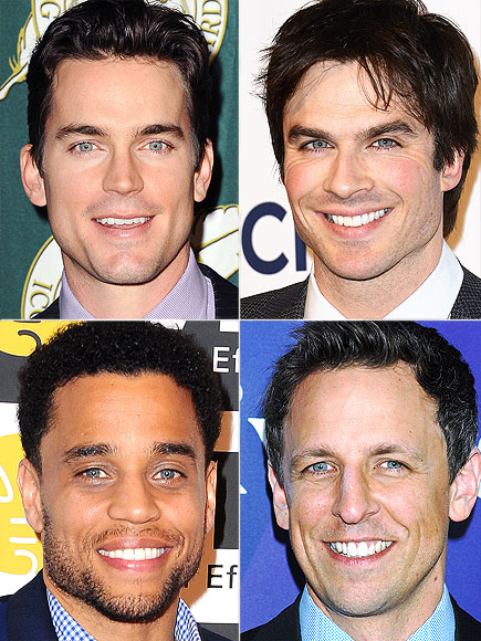 EYES photo | Ian Somerhalder, Matthew Bomer, Michael Ealy, Seth Meyers