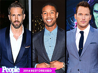 Hot Guys In Suits! The Most Stylish Men of 2014