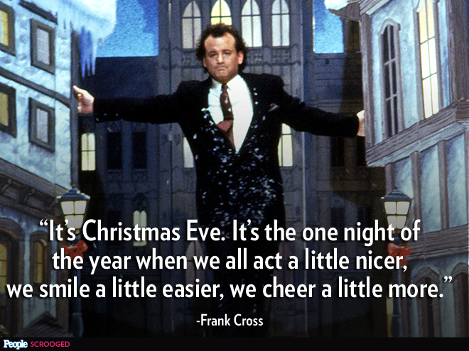 Bill murray scrooged quotes quotes from scrooged quotesgram