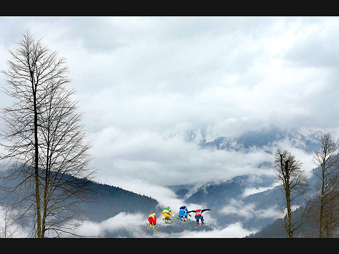 UP IN THE CLOUDS photo | Winter Olympics 2014