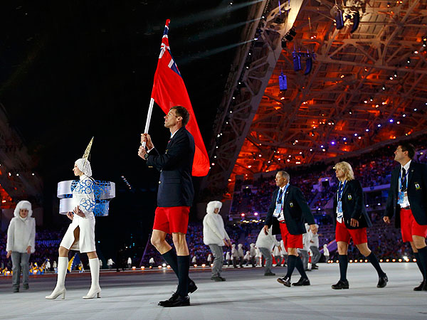 All Right, Which Olympians Are Wearing Shorts and Flip-Flops in Russia?| Winter Olympics 2014
