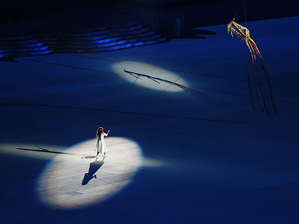 Liza Temnikova Stars in 2014 Sochi Winter Olympics' Opening Ceremony