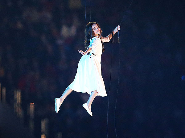 All About Liza Temnikova: The Flying Girl from the Sochi Opening Ceremonies| Olympics, Winter Olympics 2014