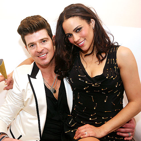 NINE YEARS: ROBIN & PAULA photo | Paula Patton, Robin Thicke