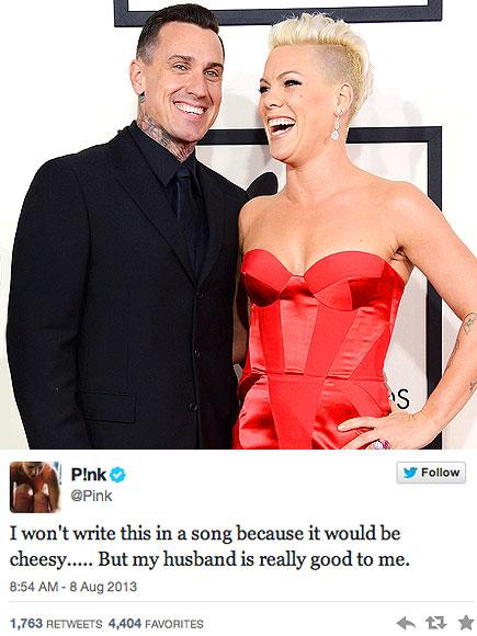 PINK & CAREY photo | Carey Hart, Pink