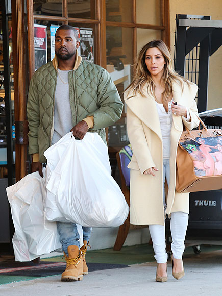 HEAVY BAGGAGE photo | Kanye West, Kim Kardashian