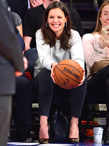 HAVING A BALL photo | Katie Holmes