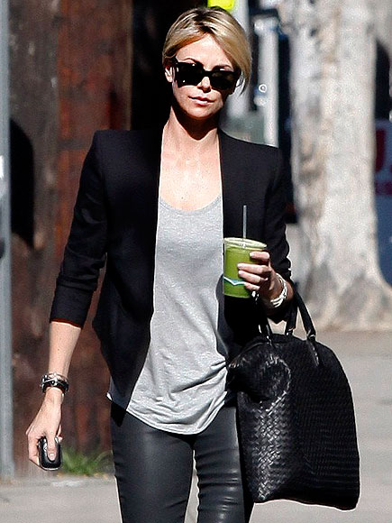 FEELING GREEN photo | Charlize Theron