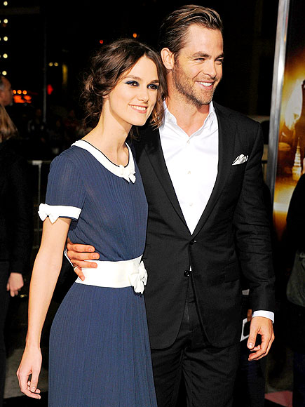 TOP OF THE CLASS photo | Chris Pine, Keira Knightley
