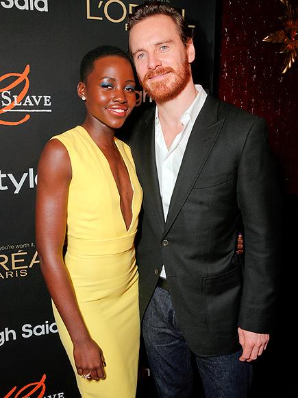 Lupita Nyong'o and Michael Fassbender