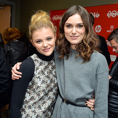 SNOW BUDDIES photo | Chloe Grace Moretz, Keira Knightley