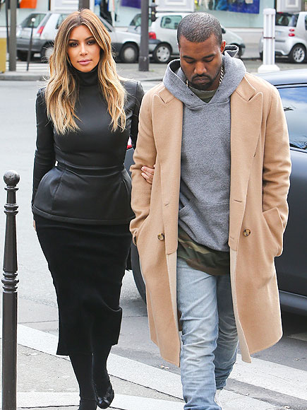 IN STEP photo | Kanye West, Kim Kardashian