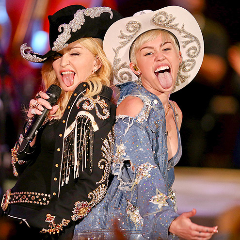 DIRTY POP photo | Madonna, Miley Cyrus