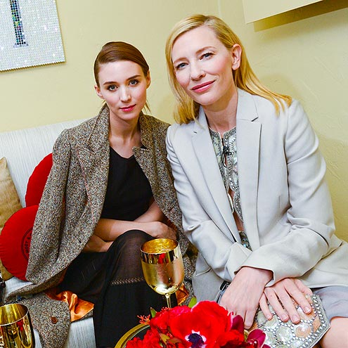 LOUNGING AROUND photo | Cate Blanchett, Rooney Mara