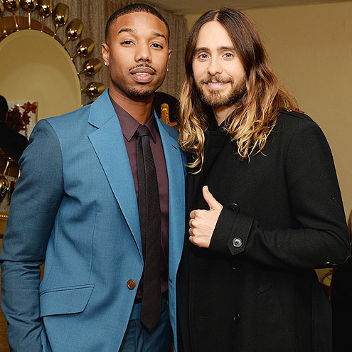 RED CARPET REGULARS photo | Jared Leto, Michael B. Jordan