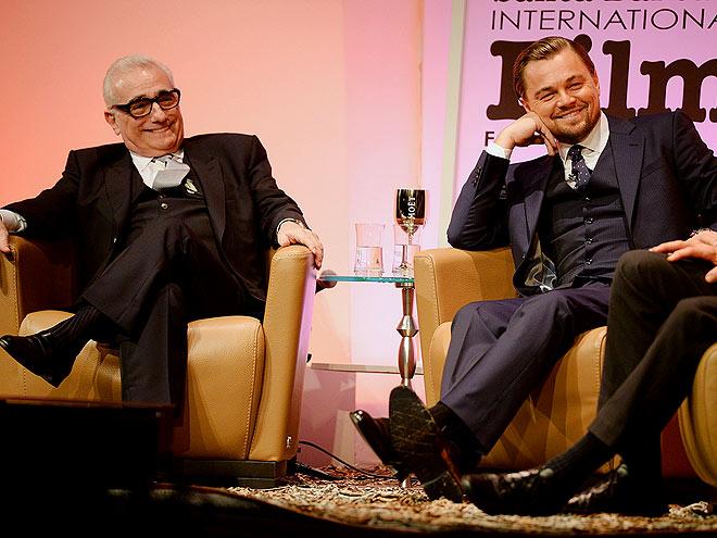 KINGS OF THE THRONE photo | Leonardo DiCaprio, Martin Scorsese