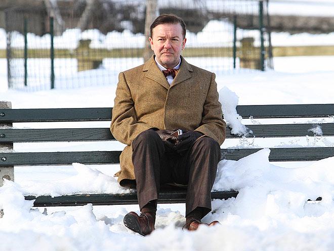 'SNOW' PROBLEM photo | Ricky Gervais