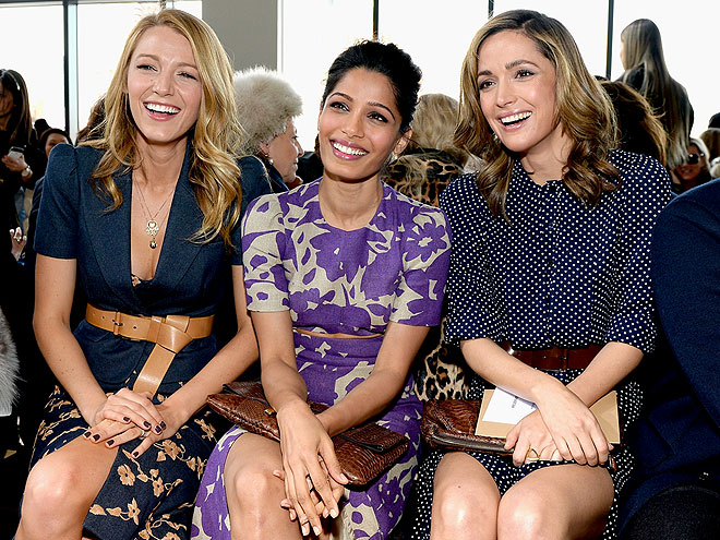 THREE AMIGAS photo | Blake Lively, Freida Pinto, Rose Byrne