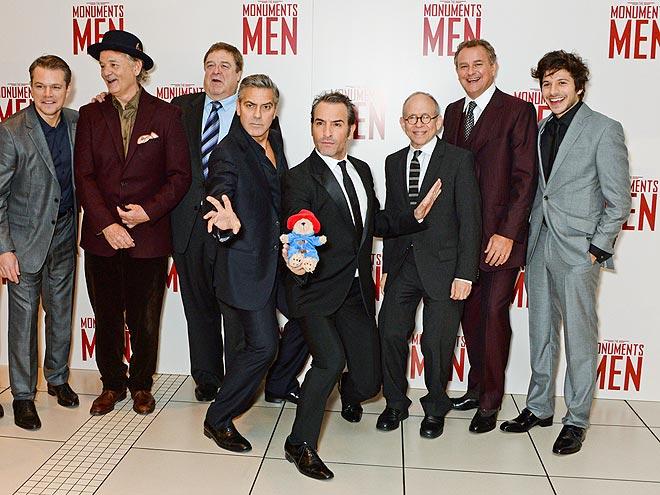 MASTERFUL MEN photo | Bill Murray, George Clooney, Jean Dujardin, John Goodman, Matt Damon
