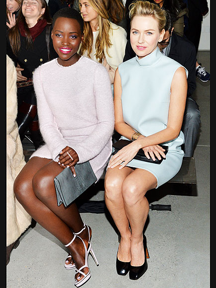 PRETTY IN PASTELS photo | Lupita Nyong'o, Naomi Watts