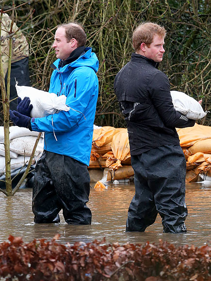 DOWN & DIRTY photo | Prince Harry, Prince William
