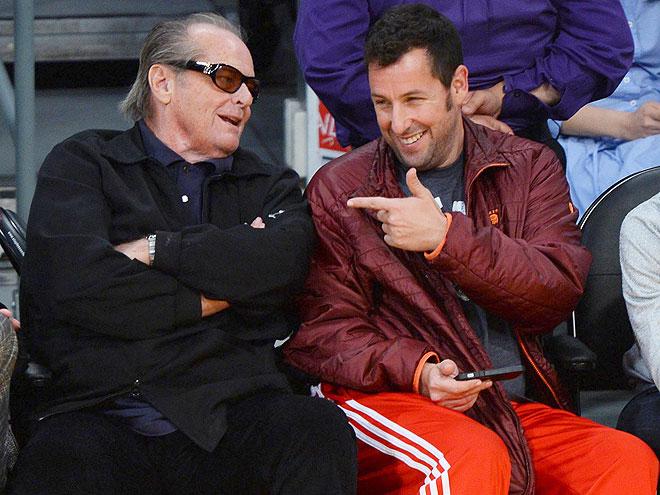 POINT & LAUGH photo | Adam Sandler, Jack Nicholson
