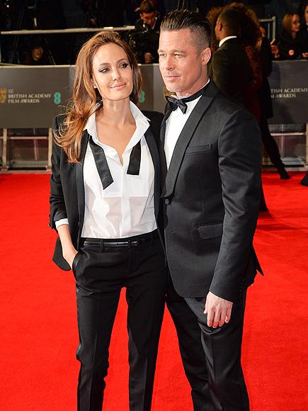 ALL TIED UP photo | Angelina Jolie, Brad Pitt