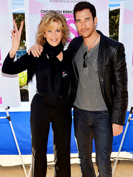 TWO CUTE photo | Dylan McDermott, Jane Fonda