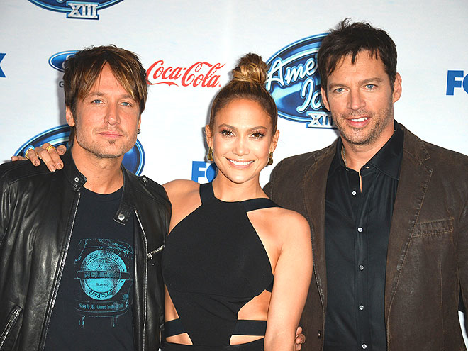 JUDGMENT DAY photo   Harry Connick Jr., Jennifer Lopez, Keith Urban