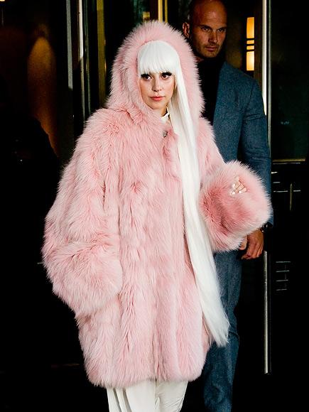 YEP, SHE'S FUR REAL photo | Lady Gaga