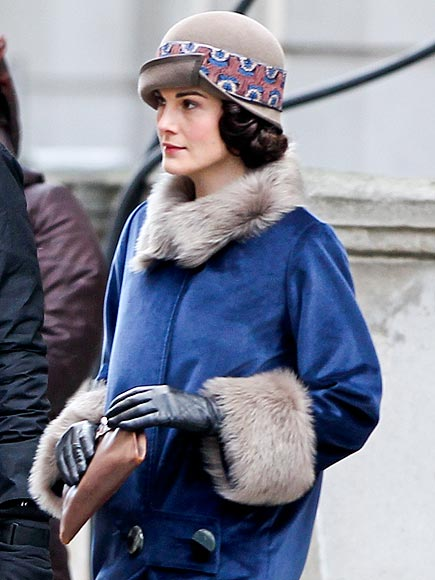 LADY IN WAITING photo | Michelle Dockery