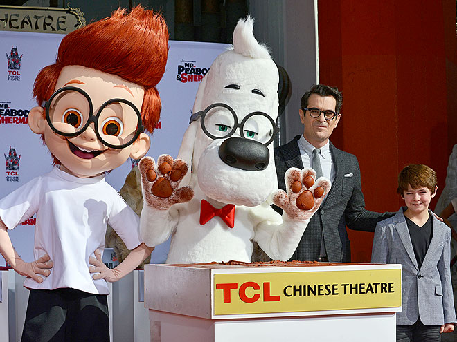 BROUGHT TO LIFE photo | Mr. Peabody & Sherman, Ty Burrell