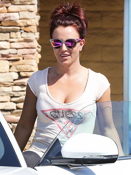 GOING GINGER photo | Britney Spears