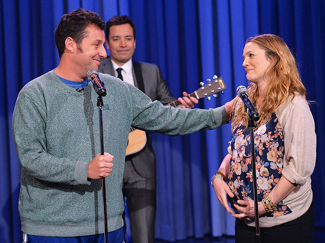 SING ME A SONG photo | Adam Sandler, Drew Barrymore, Jimmy Fallon