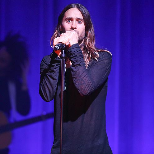 MIC CHECK photo | Jared Leto