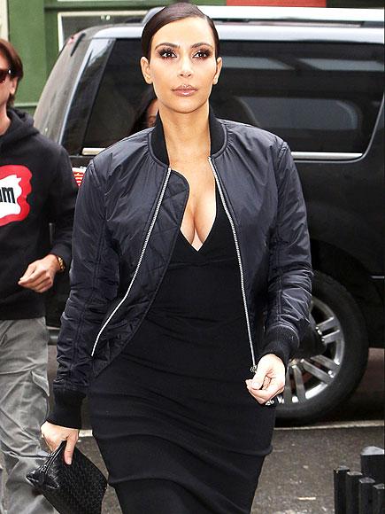 BACK TO BLACK photo | Kim Kardashian