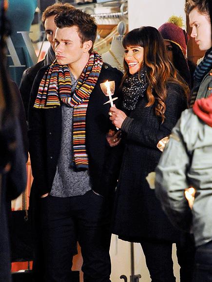 FOND MEMORIES photo | Chris Colfer, Lea Michele