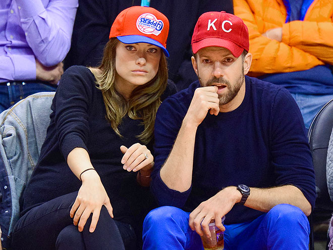 NAIL-BITER photo | Jason Sudeikis, Olivia Wilde