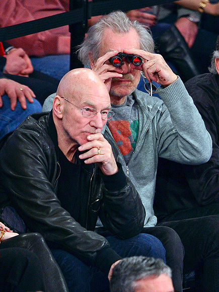 EYE SPY photo | Ian McKellen, Patrick Stewart
