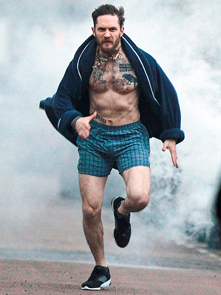 RUN, TOM, RUN! photo | Tom Hardy
