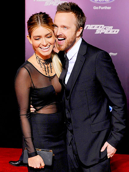 CONTAGIOUS SMILES photo | Aaron Paul