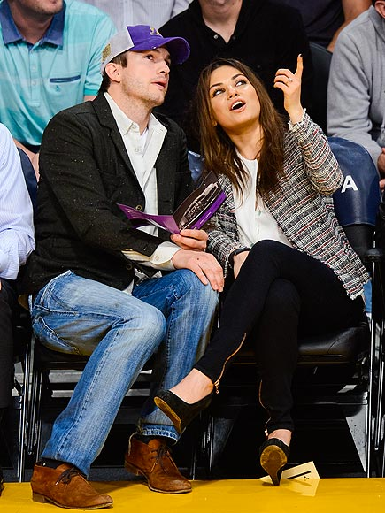 ORDER IN THE COURT photo | Ashton Kutcher, Mila Kunis