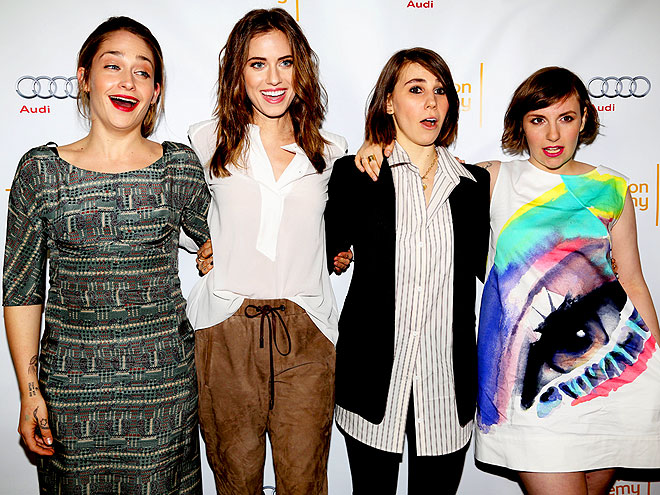 THE FAB FOUR photo | Allison Williams, Lena Dunham, Zosia Mamet