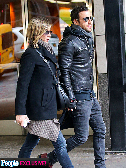 DOUBLE HAPPINESS photo | Jennifer Aniston, Justin Theroux