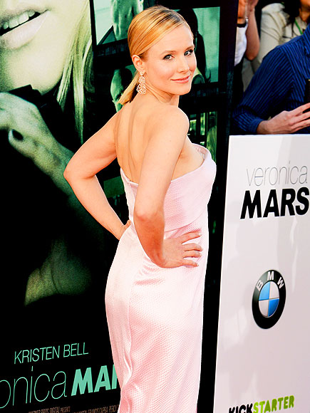 BACK AT IT photo | Kristen Bell