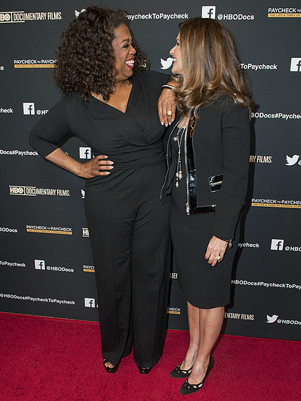 FACE TO FACE photo | Maria Shriver, Oprah Winfrey
