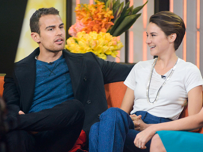 TALK THAT TALK photo | Shailene Woodley, Theo James